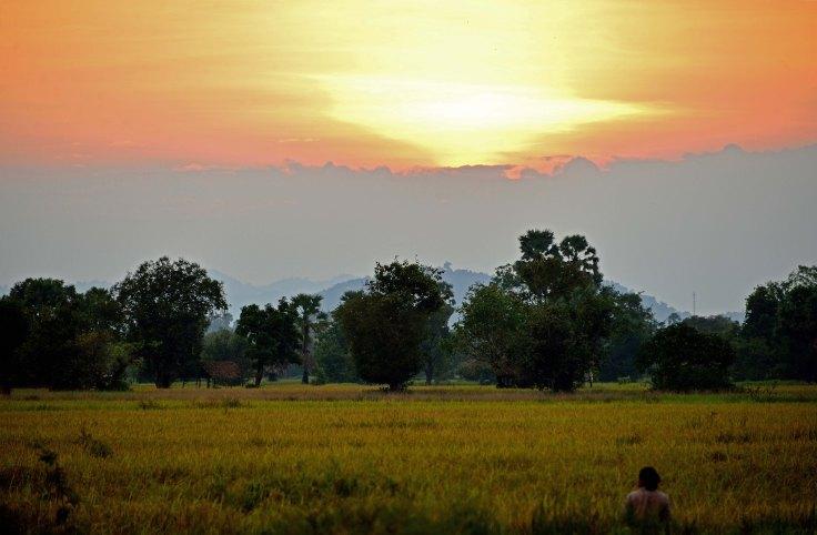 Laos, Don Khon, islands, Li Phi, waterfalls