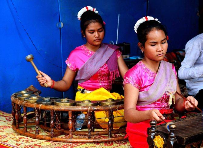 Banlung, Cambodia, musicians