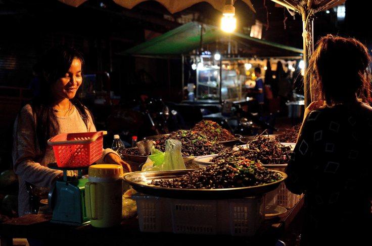 Banlung, Cambodia, markets