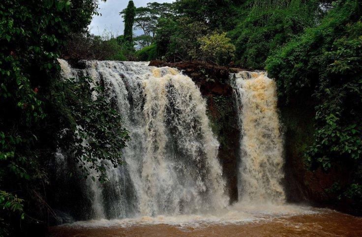 Banlung, Cambodia, Kachang Waterfall