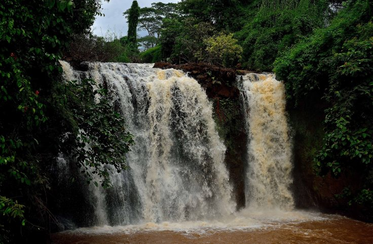 Banlung, Cambodia, Kachang Waterfall