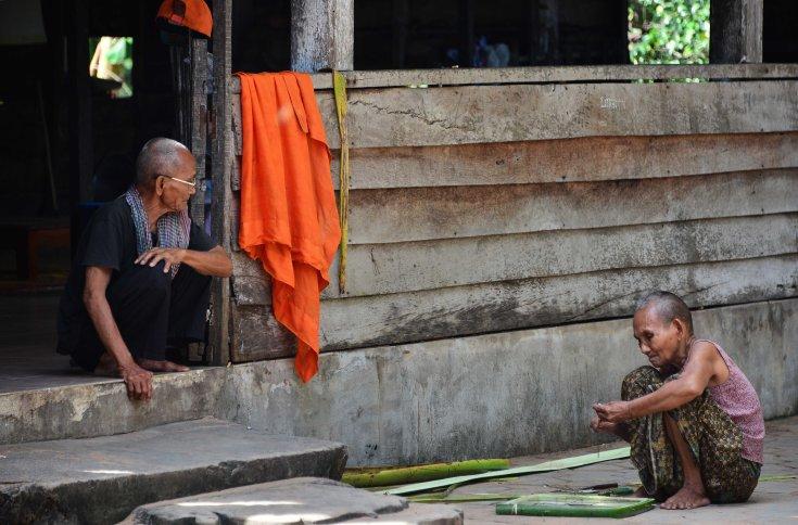 Monks, Cambodia, SE Asia, temples