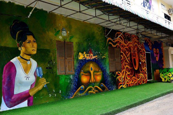 cambodia, street art, Battambang