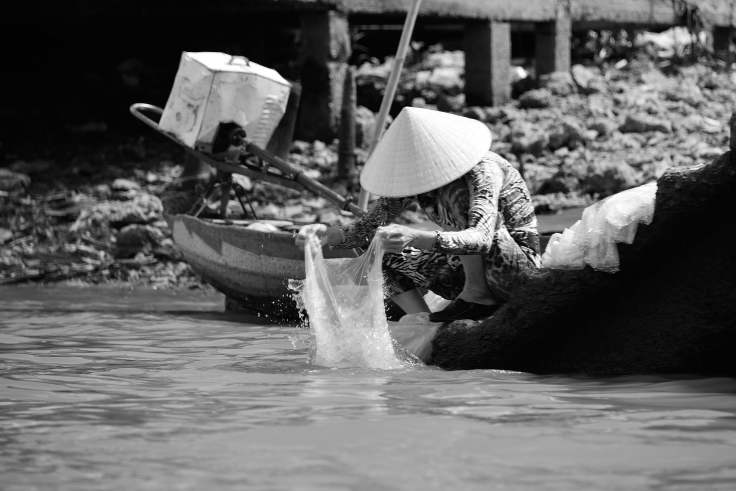 Can Tho, Vietnam, canal transport