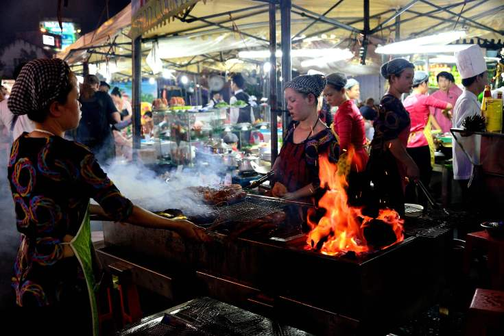Saigon, Vietnam, markets