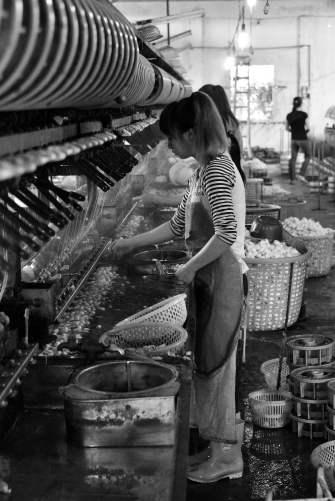 Dalat, Vietnam, silk
