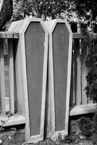 coffin fence, Dalat, Vietnam