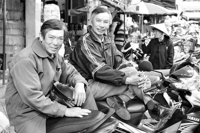 locals, Dalat, Vietnam