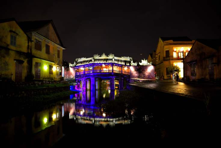 bridge, hoi an, vietnam