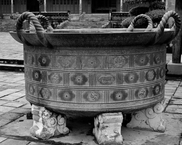 Hue, Vietnam, Imperial City Urn