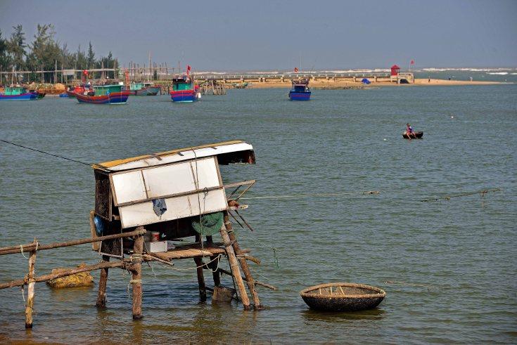 fisheeman, Dong Hoi, Vietnam