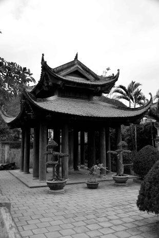 Trang An, Ninh Binh, Vietnam, temple