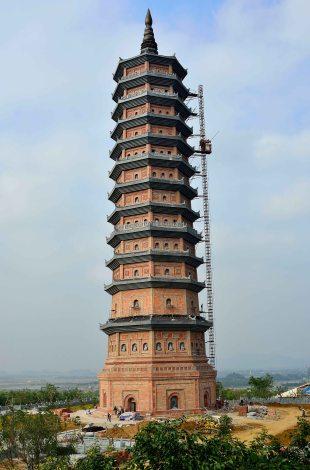 Bai Đính, pagoda, Ninh Binh, Vietnam
