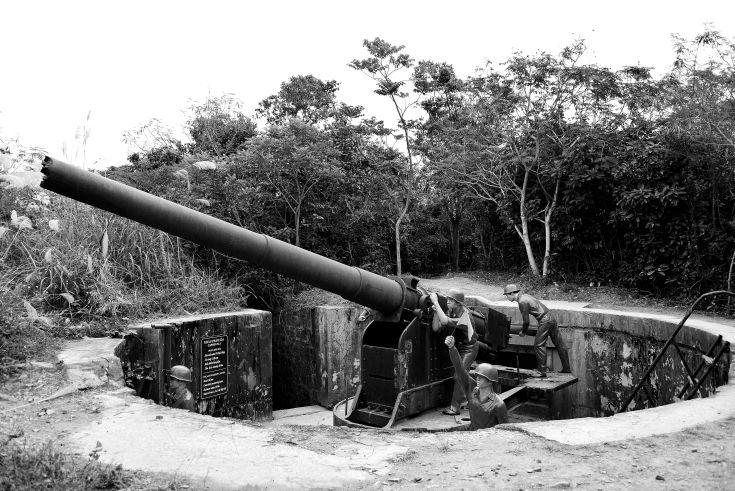 Canon Fort, Vietnam, Cát Bà Island