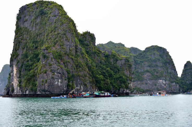 Hạ Long Bay, Vietnam, fishing village