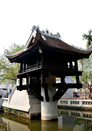 One Pillar Pagoda, Vietnam, Hanoi