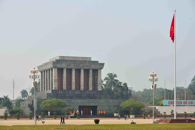 Hanoi, Vietnam, mausoleum