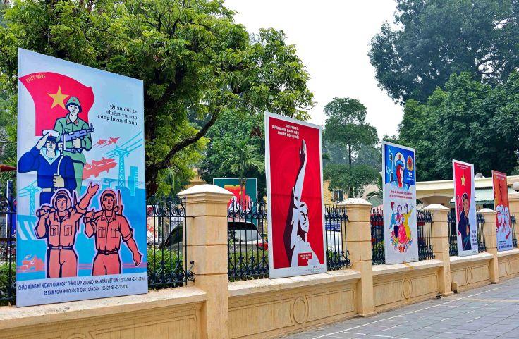 Hanoi, Vietnam, political,