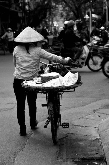 Hanoi, Vietnam, street seller