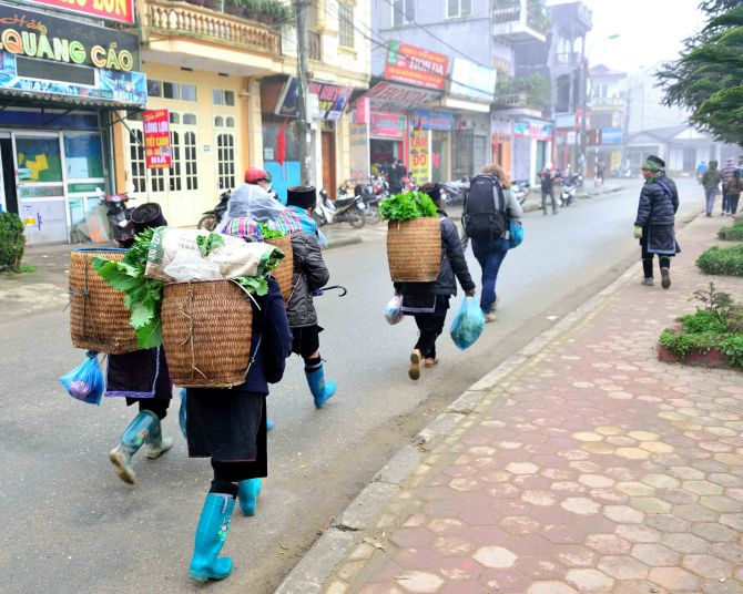 H'mong, Sapa, Vietnam