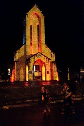 Sapa, Vietnam, church