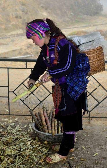 Sapa, Vietnam, H'mong