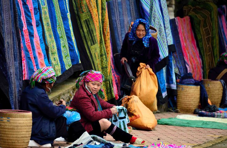 H'mong, Vietnam, Sapa