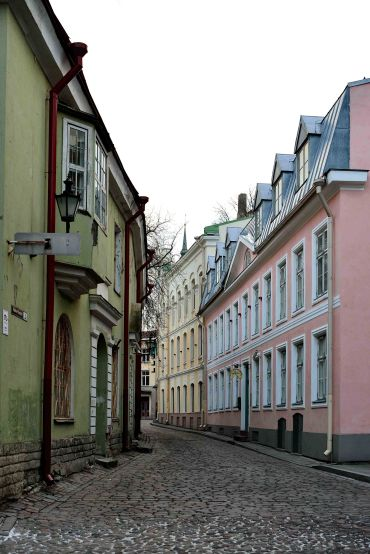 Tallinn, Estonia, alleyways