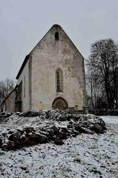 St Catherine's, Linnaka Village Karja, Saaremaa Island, Estonia, The Baltics, Europe