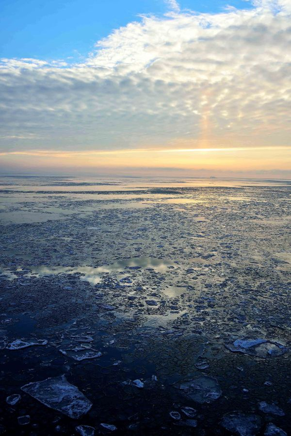 Baltic sea ice