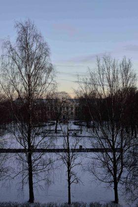 Tartu winter view