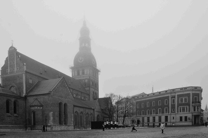 Latvia, Riga, architecture, cathedral