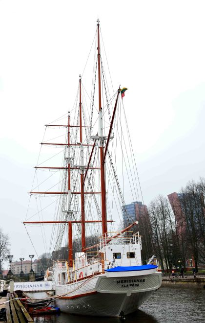Sailing vessel Meridianas Klaipėda, Lithuania, Baltic States, Europe