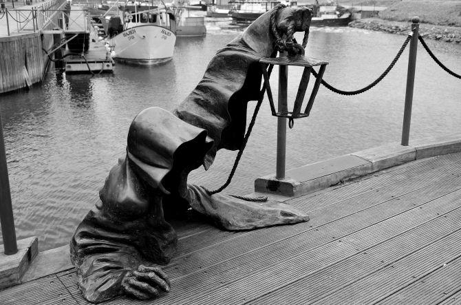Bronze sculpture - Klaipėda