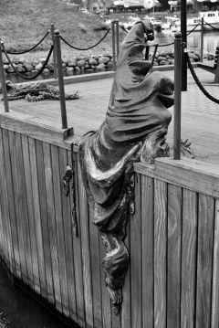 sculpture, klaipeda