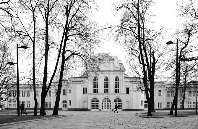 Historical Presidential Palace Kaunas, Lithuania