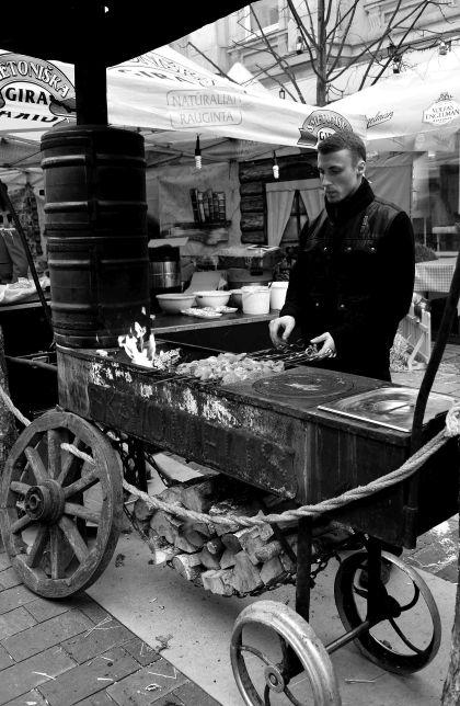 Vilnius: Kaziukas Fair food, Lithuania, Baltic States, Europe