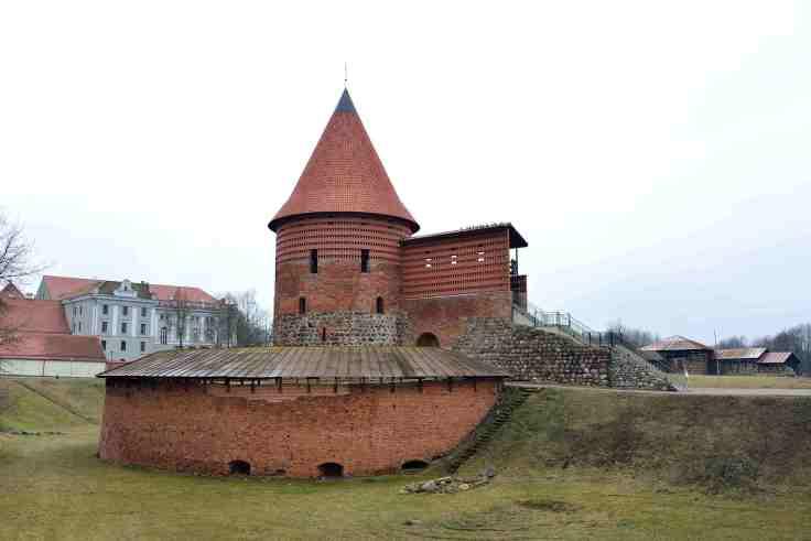 Kaunas Castle, Lithuania, Baltic States, Europe