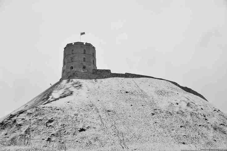 Vilnius, Gediminas' Tower castle, Lithuania, Baltic States, Europe