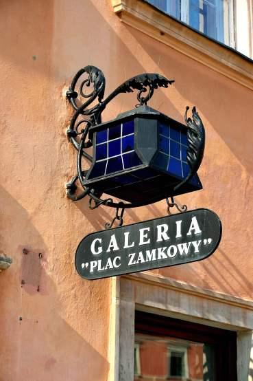 Warsaw Old Town lantern