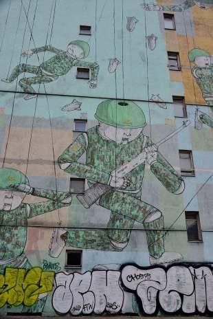 political, street art, warsaw