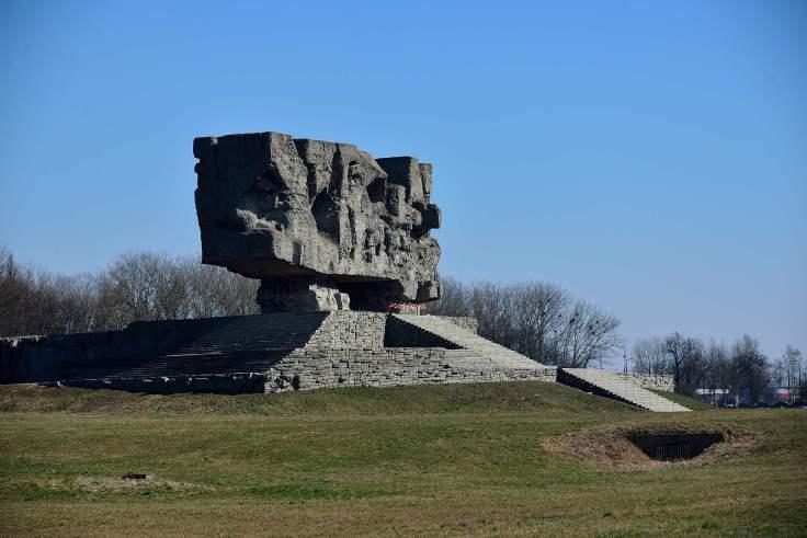 Monument to Struggle and Martyrdom, Majdanek, poland