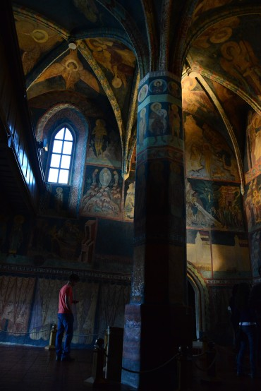 lublin, poland, holy trinity chapel, byzantine, paintings