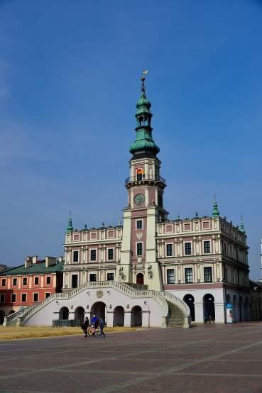 Town Hall, Market Place, poland, Zamość