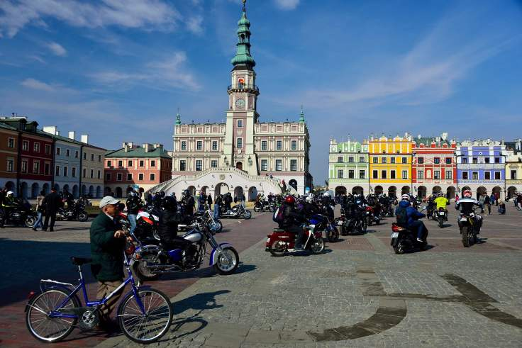 Zamość, poland, Old Town, architecture