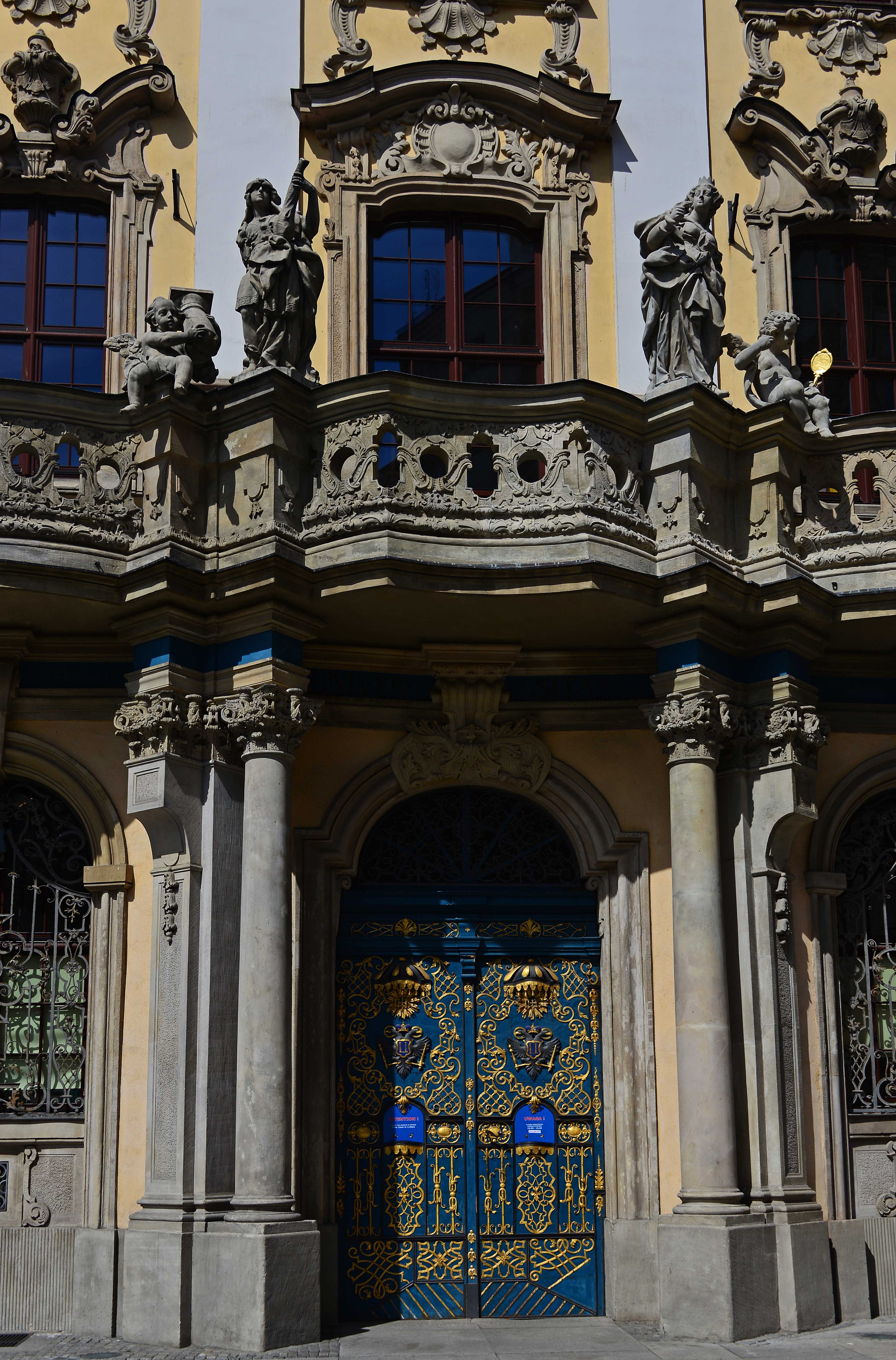 the lady next door in wroclaw