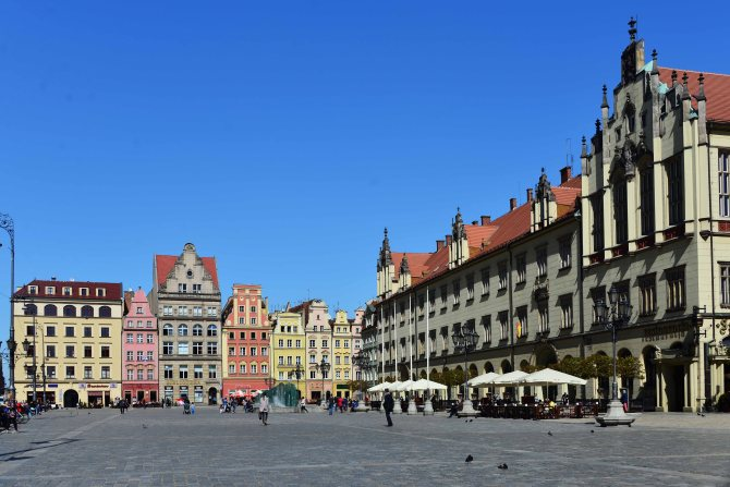 old town, poland, wroclaw