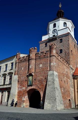 old town, lublin, poland, architecture, Krakowska