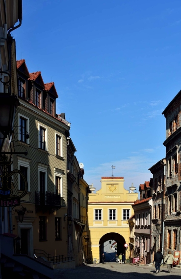 Lublin. old town, architecture