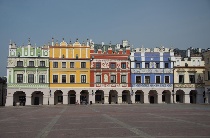 poland, Zamość, architecture, armenian, renaissance